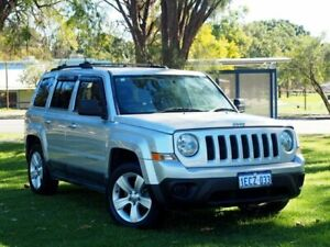 2012 Jeep Patriot MK MY2012 Sport 4x2 Silver 5 Speed Manual Wagon Myaree Melville Area Preview