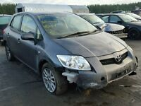 Toyota Auris 1.6 16vvti 2008 For Breaking