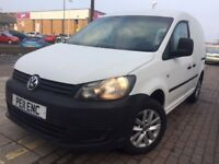 VOLKSWAGEN CADDY C20 TDI S-A automatic (white) 2011