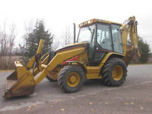 2006 Cat 420D Loader Backhoe