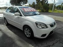 2009 Kia Rio JB EX White 4 Speed Automatic Sedan Nailsworth Prospect Area Preview
