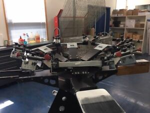 FOR IMMEDIATE SALE - COMMERCIAL SCREEN-PRINTING OPERATION