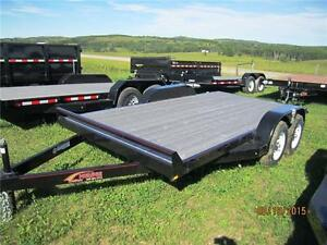 2015 Mirage Car Hauler Flat Deck 7x18 3500lb axles
