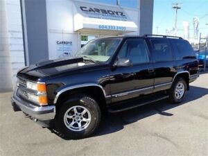 1999 Chevrolet Tahoe LT 4x4, Leather, Only 90,441 Kms.!!