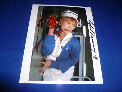 SYBIL DANNING sexy signed autograph In Person 8x10 HALLOWEEN (Sybil Danning Halloween)
