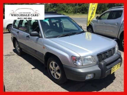 2000 Subaru Forester MY01 Silver 5 Speed Manual Wagon Jewells Lake Macquarie Area Preview