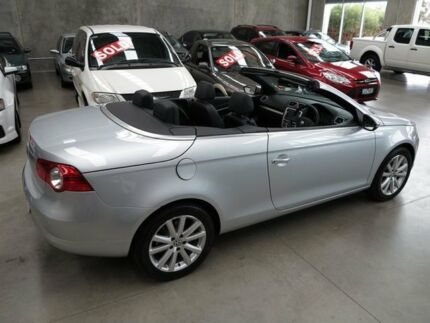 2009 Volkswagen EOS 1F MY09 147TSI DSG Aluminium Silver 6 Speed Sports Automatic Dual Clutch Convert Essendon Moonee Valley Preview