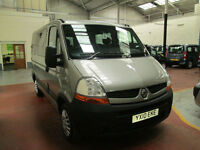 10 RENAULT MASTER WHEELCHAIR ADAPTED DISABLED 50 + ADAPTED VEHICLES IN STOCK