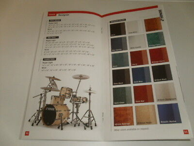 SONOR DRUMS & ACCESSORIES 2002 MUSICAL INSTRUMENT CATALOG