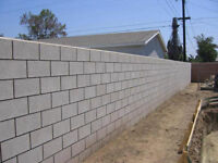 Do you need cinder block work done ?