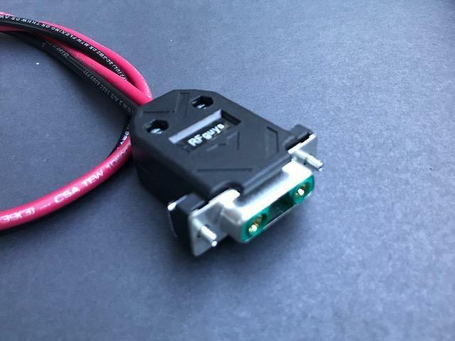 EF Johnson 5300 53SL Ascend ES Viking VM400 VM600 VM900 Radio Power Cable