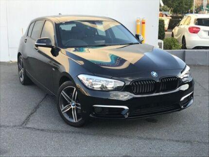 2016 BMW 118i F20 LCI Urban Line Hatchback 5dr Steptronic 8sp 1.5T Black Sports Automatic Hatchback