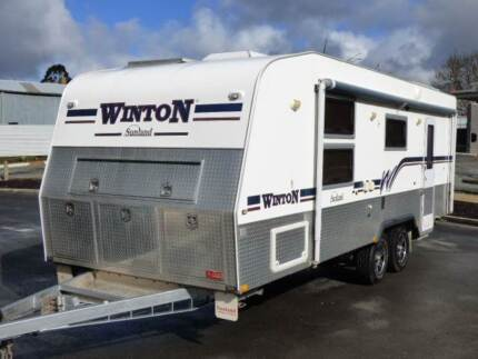 Sunland Winton 24ft Off Rd Top of the Line Aluminium Box Frame !