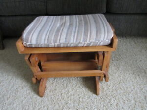 FOOT STOOL FOR GLIDER ROCKER
