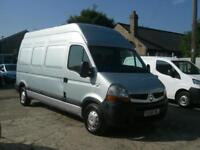 RENAULT MASTER 2.5TD 120 (LWB) LH35dCi EXTRA H/ROOF 2008(58) CLEAN, DRIVES WELL