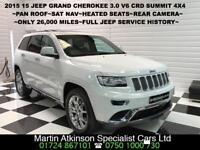 2015 15 Jeep Grand Cherokee 3.0 V6 CRD Summit 4X4 Automatic 247BHP