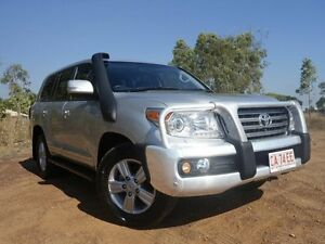 2012 Toyota Landcruiser VDJ200R MY10 Sahara Silver Pearl 6 Speed Sports Automatic Wagon Gunn Palmerston Area Preview