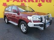 2017 Toyota Landcruiser VDJ200R GXL Red 6 Speed Sports Automatic Wagon Winnellie Darwin City Preview
