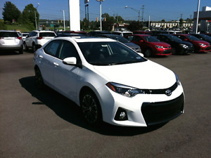 2015 Corolla S w/leather, sunroof!Save money!!!