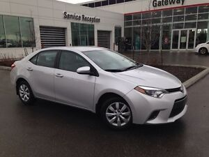 2016 Toyota Corolla LE Backup Cam. Heated Seats, Touch Screen In