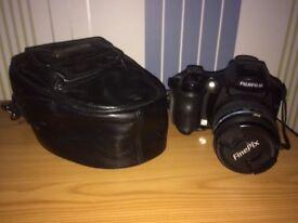 Fuji Finepix 6500fd Digital Camera & Leather Case.