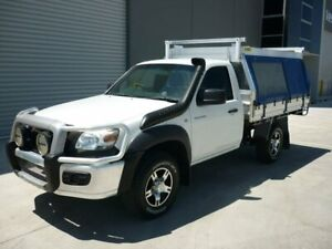 2008 Mazda BT-50 UN DX White Manual Grovedale Geelong City Preview