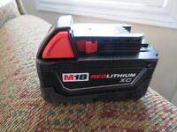 M18 XC High Capacity REDLITHIUM Battery