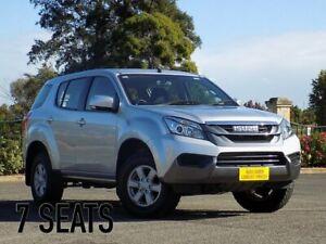 2016 Isuzu MU-X MY15 LS-M Rev-Tronic 4x2 Silver 5 Speed Sports Automatic Wagon Enfield Port Adelaide Area Preview