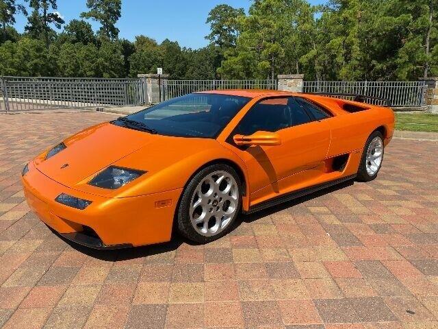 2001 Lamborghini Diablo VT 6.0  Coupe  Manual Arancio Atlas Orange