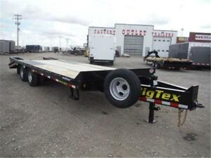 20'+5' HD Tandem Dual Pintle by Big Tex Trailers *25,900# GVWR*