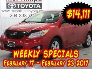 2013 Toyota Matrix 5dr Front-wheel Drive Hatchback