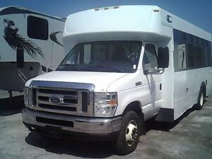 2012 FORD E-450 SUPER DUTY MINI-BUS 21 PASS, AIR, INSPECTÉ, FULL