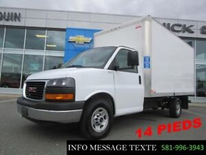 2017 Chevrolet EXPRESS CUTAWAY 14 PIEDS ROUE SIMPLE