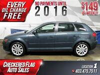 2009 Audi A3 2.0T W/ Heated Leather Seats-NAV-Rear Cam $149/BW!