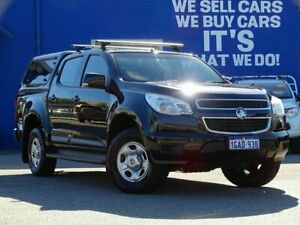2016 Holden Colorado RG MY16 LS Crew Cab Black 6 Speed Sports Automatic Utility Welshpool Canning Area Preview