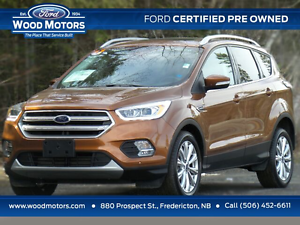 2017 Ford Escape Titanium (Certified Pre-Owned)