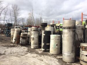 Highway truck fuel tanks