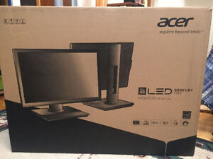 """Acer 24"""" LED Backlight LCD Monitor sealed in the box"""