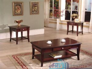 Selling Demo  demo model Coffee table &  End table.