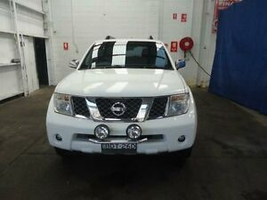 2005 Nissan Pathfinder R51 ST-L (4x4) White 6 Speed Manual Wagon Cardiff Lake Macquarie Area Preview