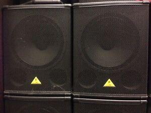 Behringer B1800X Pro bass Subwoofers