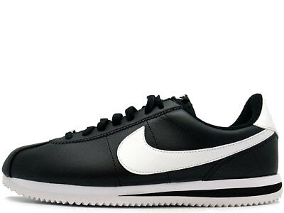 New Nike Cortez Leather Black/White 819719-012 Shoes Men