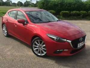 2016 Mazda 3 BM Series SP25 Red Sports Automatic Garbutt Townsville City Preview