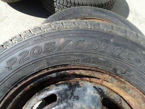 4 Motomaster Tires with Rims for Camry 205/65/15 Edmonton Edmonton Area image 4