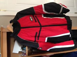 FS HJC Mens Snowmobile jacket and bibs xxl with gloves
