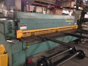 Used Wysong 12ft x 0.25 Mechanical Shear