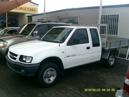 2001 Holden Rodeo TFR9 LX (4x4) White 5 Speed Manual Space Cab Pickup
