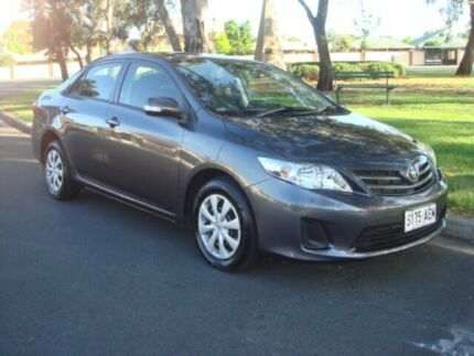 2010 Toyota Corolla ZRE152R MY10 Ascent Grey 4 Speed Automatic Sedan Broadview Port Adelaide Area Preview