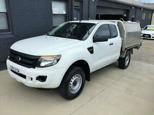 2013 Ford Ranger PX XL 2.2 Hi-Rider (4x2) White 6 Speed Automatic Super Cab Chassis Peakhurst Hurstville Area Preview
