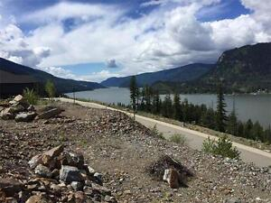 Gorgeous Mara Lakeview building lot - top of Bayview Estates!